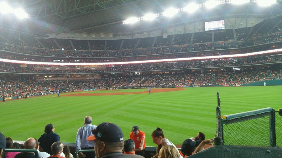 Astros Career Day held at Minute Maid Park