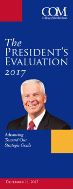 College of the Mainland The President's Evaluation 2017