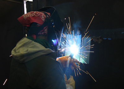 Welding program, female welder