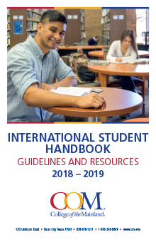 International Student Handbook 2018-2019 Cover