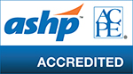 ASHP accredited logo