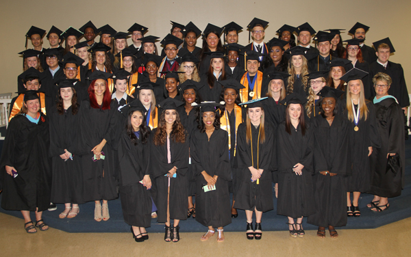 College of the Mainland Collegiate High School graduated 88 students, 56 of whom have earned associate degrees.
