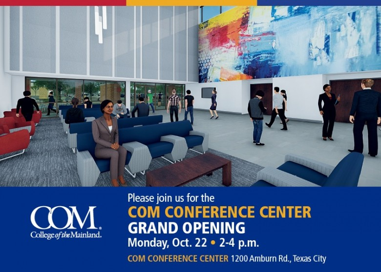 COM Conference Center Set to Open Oct. 22