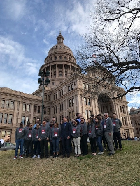 COM Students Attend Day at the Capitol