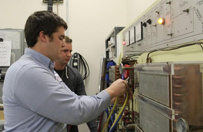 HVAC program prepares students for high-skills, high-demand jobs