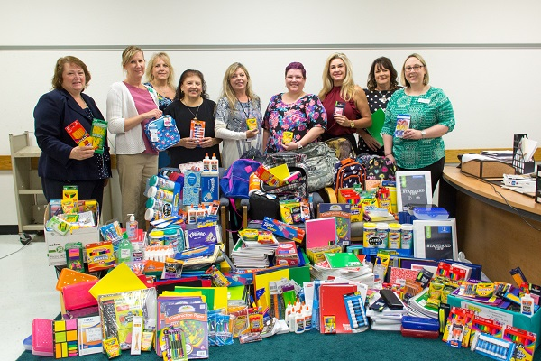 COMPeers Donate School Supplies to Santa Fe Schools