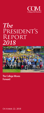 College of the Mainland The President's Report 2018