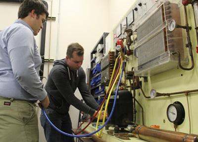 HVAC program photo