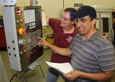 Machinist program photo