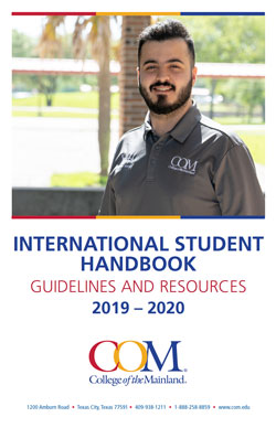 International Student Handbook 2019-2020 Cover