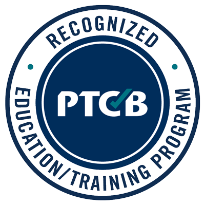 PTCB Recognized Education Training Program Seal