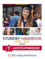 2018-2019 Student Handbook cover
