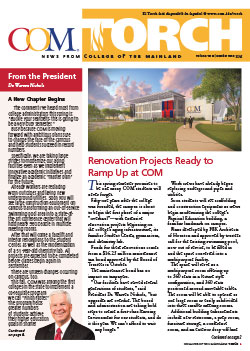 COM Torch Newsletter cover page