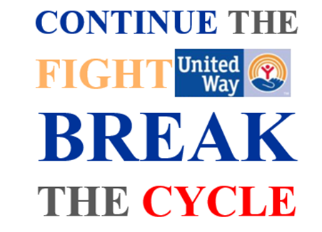 Continue the Fight. Break the Cycle.